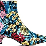 Office Atomic Floral-Print Boots
