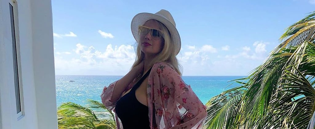Kate Upton's Black One-Piece Swimsuit June 2019