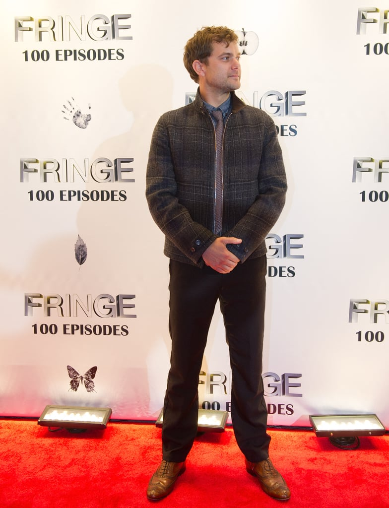 Joshua Jackson attended the Fringe100 episodes and final season party in Vancouver.