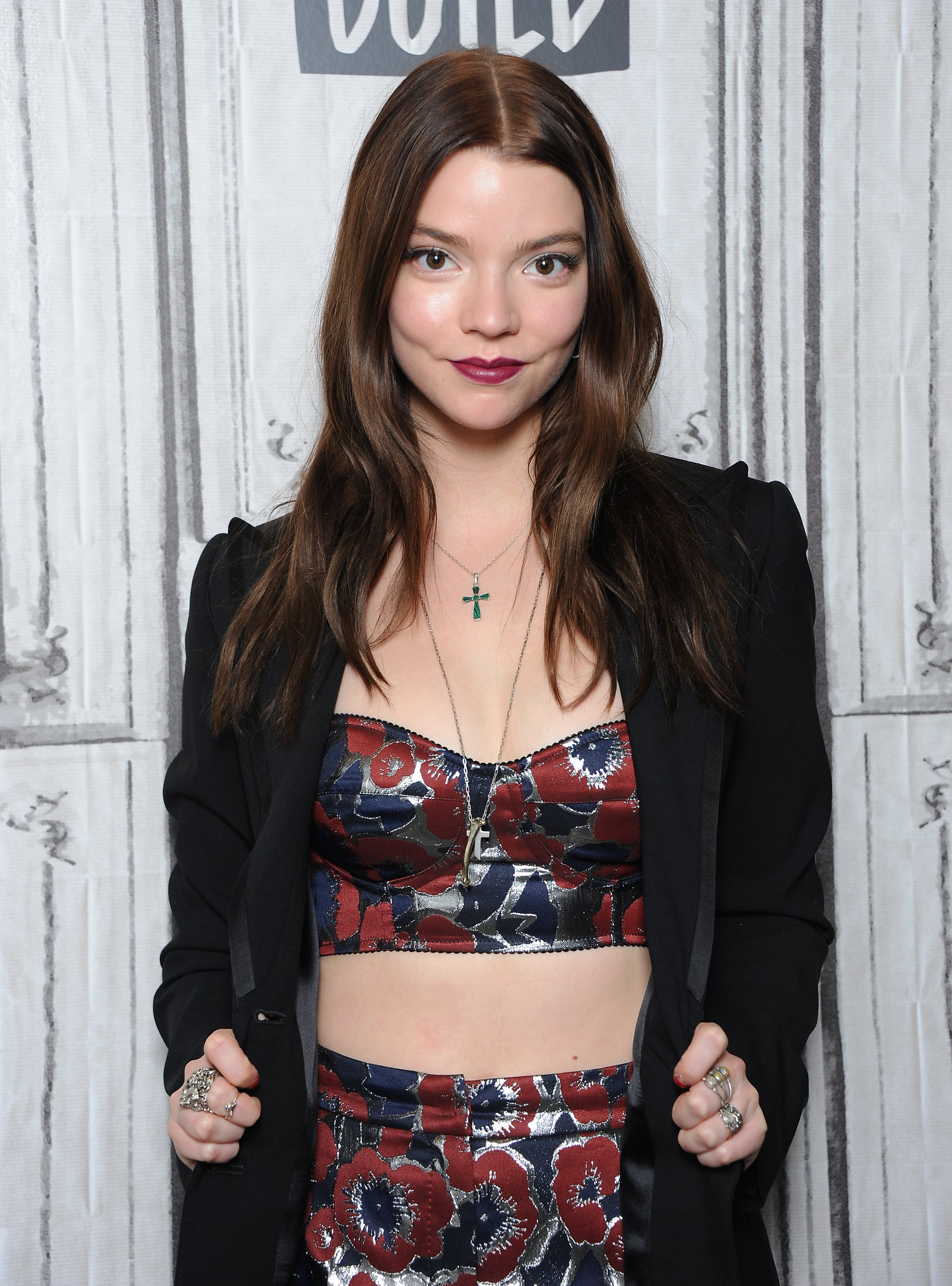 NEW YORK, NY - MARCH 07:  Actress Anya Taylor-Joy visits Build Series to discuss 'Thoroughbreds' at Build Studio on March 7, 2018 in New York City.  (Photo by Desiree Navarro/WireImage)