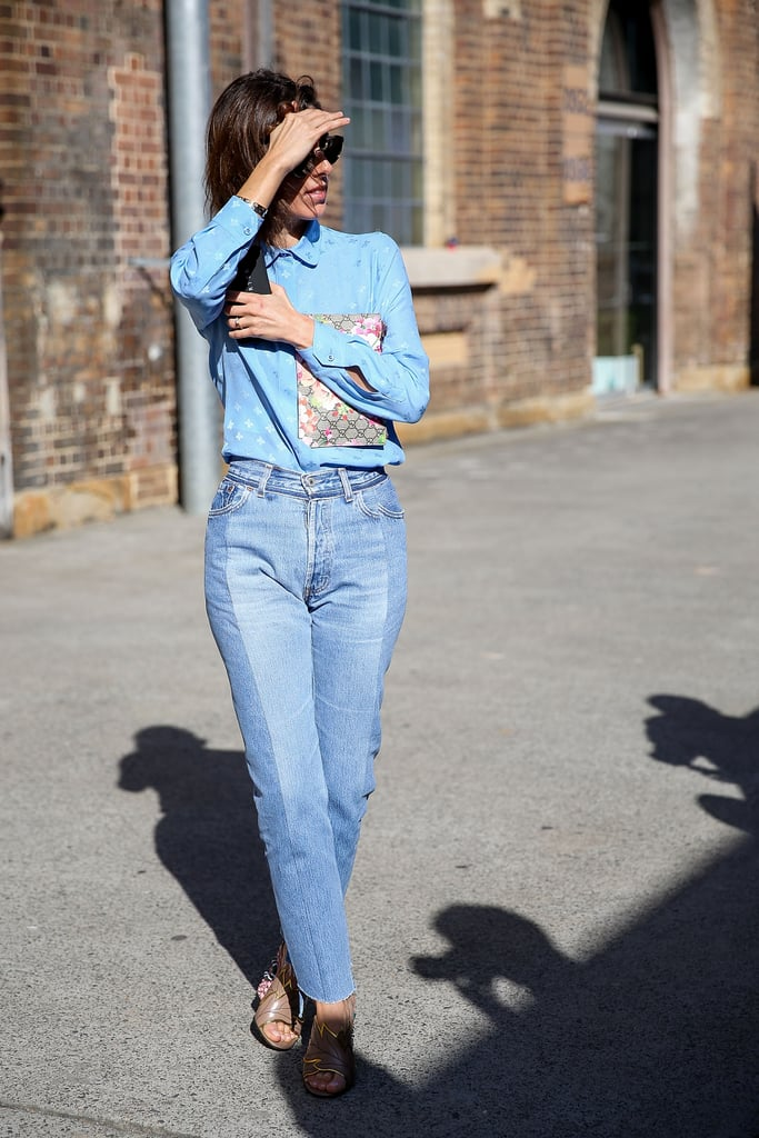 Give Your Canadian Tuxedo a Preppy Touch With a Peter Pan Collar