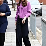 Kate Middleton Wearing Pants