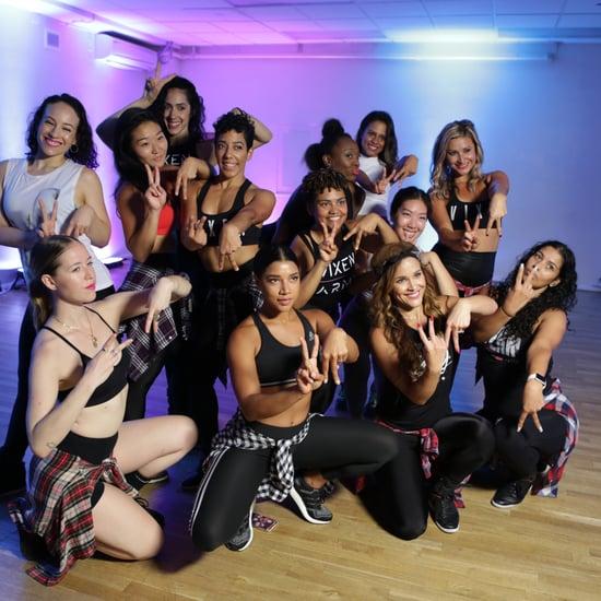 Hannah Bronfman Tries Vixen Workout | Video