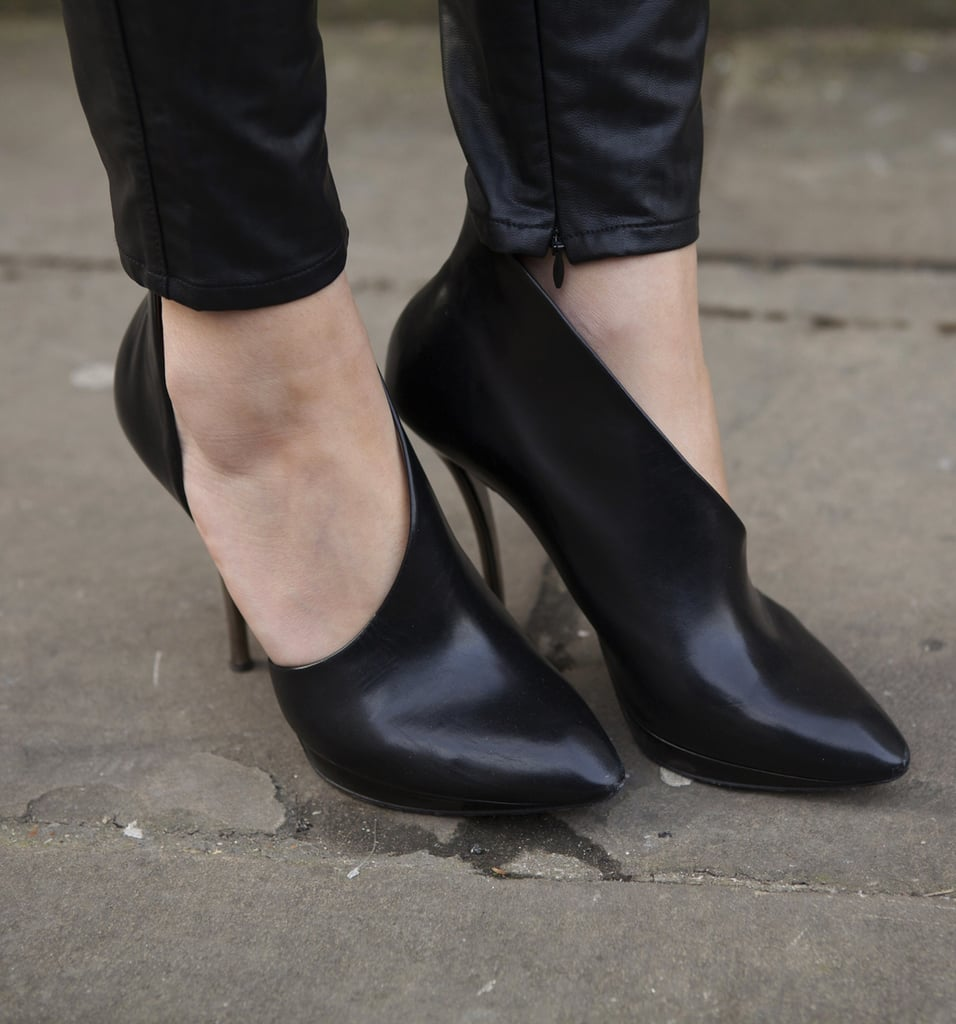 Pumps or boots? Either way, these shoes were a fantastic way to add a modern touch to a look.