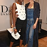 Leomie Anderson with Bella
