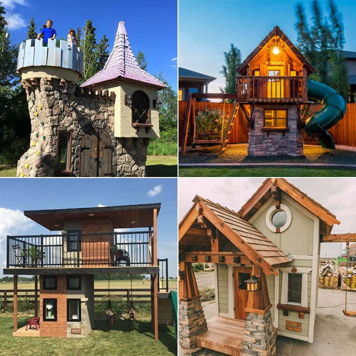 A Luxury Mansion L: Charmed Luxury Playhouses For Kids