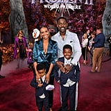 Sterling K. Brown and His Family at Frozen 2 Premiere