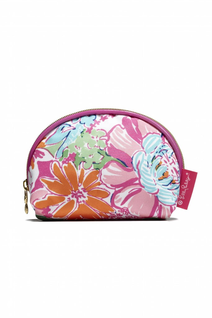 Round Top Clutch in Nosie Posey ($14)