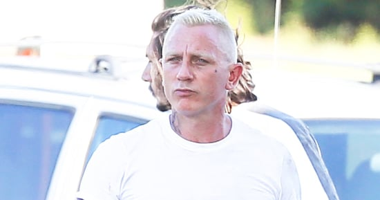 Daniel Craig Is Nearly Unrecognizable With Platinum Blond Hair and Tattoos in 'Logan Lucky'