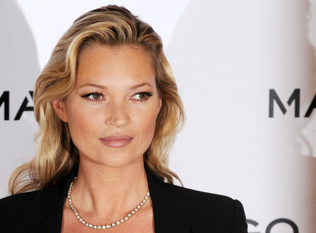 Kate Moss was launched as the new face of Mango.