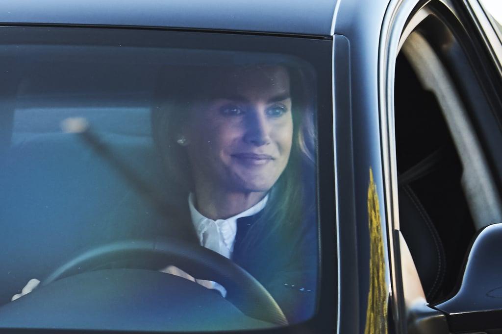 Queen Letizia Driving Princess Leonor to School Pictures