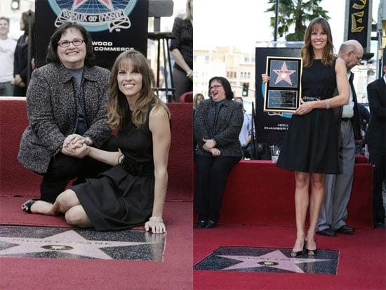 Hilary Gets Her Own Star