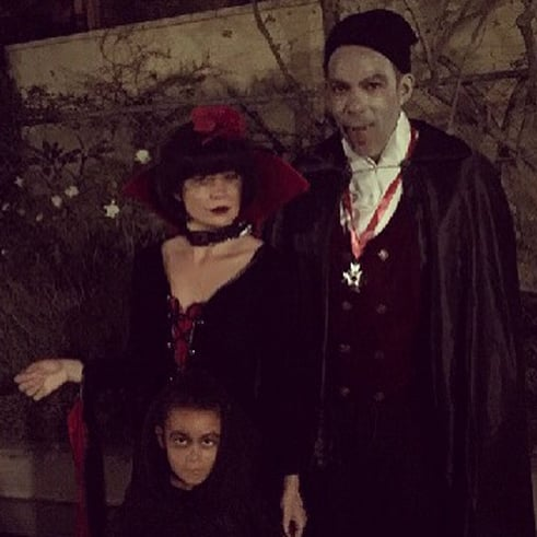 Ellen Pompeo Halloween Instagram With Faces