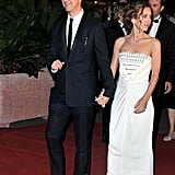 Edward Norton and Shauna Robertson attended the opening-night dinner.