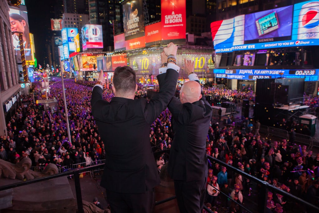 Same-Sex Wedding in Times Square on New Year's Eve