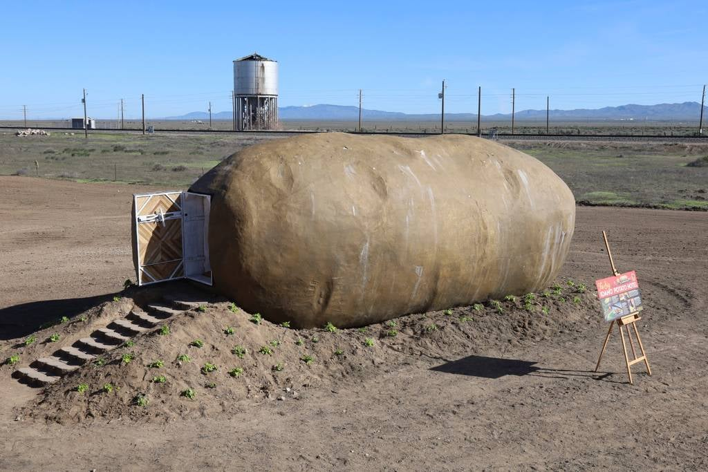 The Big Idaho Potato Hotel Airbnb