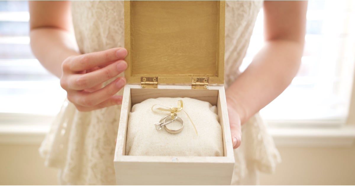 Double Ring Box For Wedding Ceremony 3 Fresh