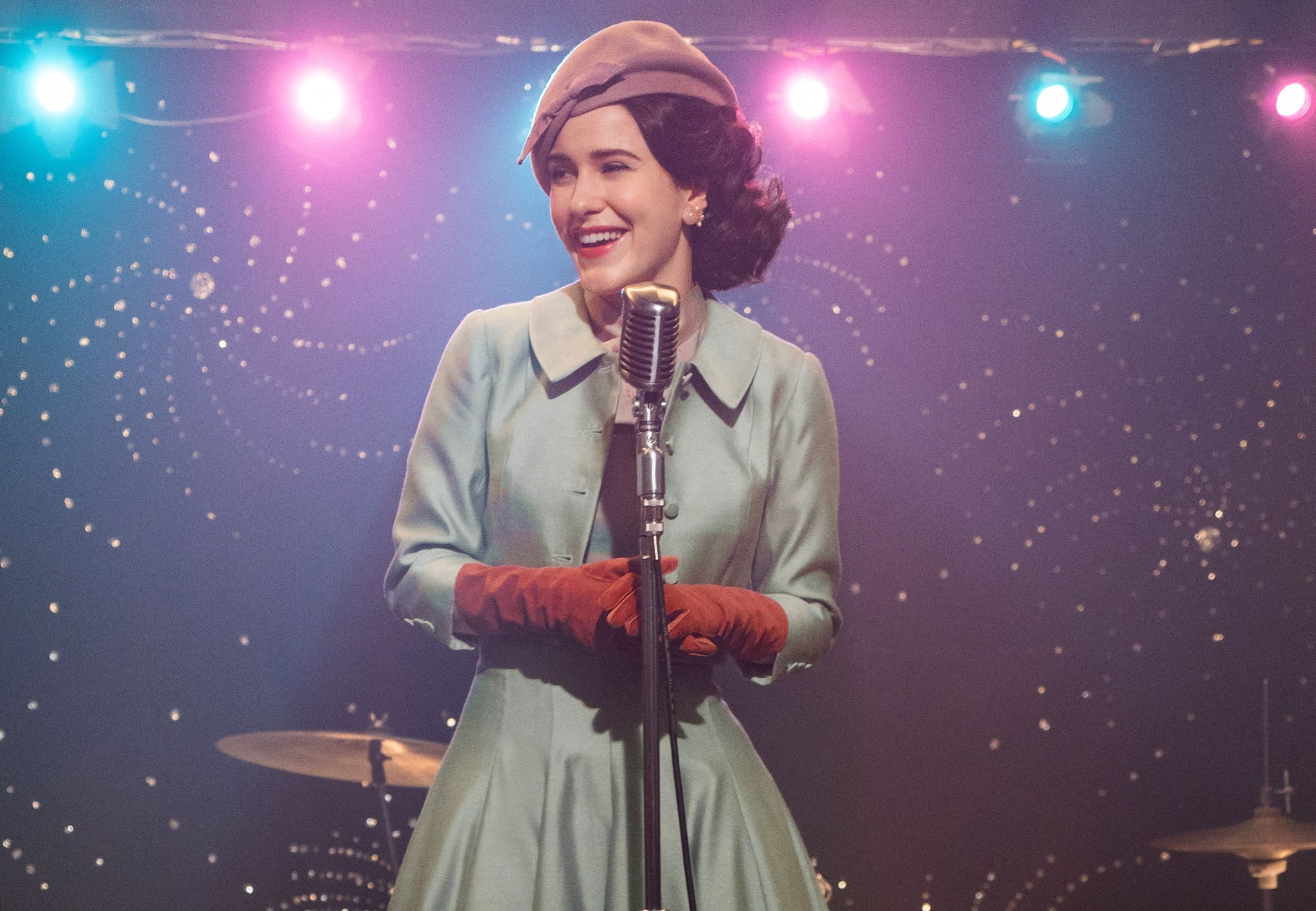 THE MARVELOUS MRS. MAISEL, Rachel Brosnahan, 'Simone', (Season 2, ep. 201, aired Dec. 5, 2018). photo: Nicole Rivelli / Amazon / Courtesy: Everett Collection