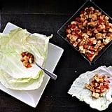 Tofu Cabbage Cups