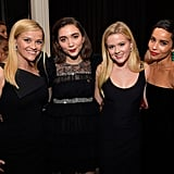 Pictured: Reese Witherspoon, Rowan Blanchard, Ava Phillippe, and Zoë Kravitz