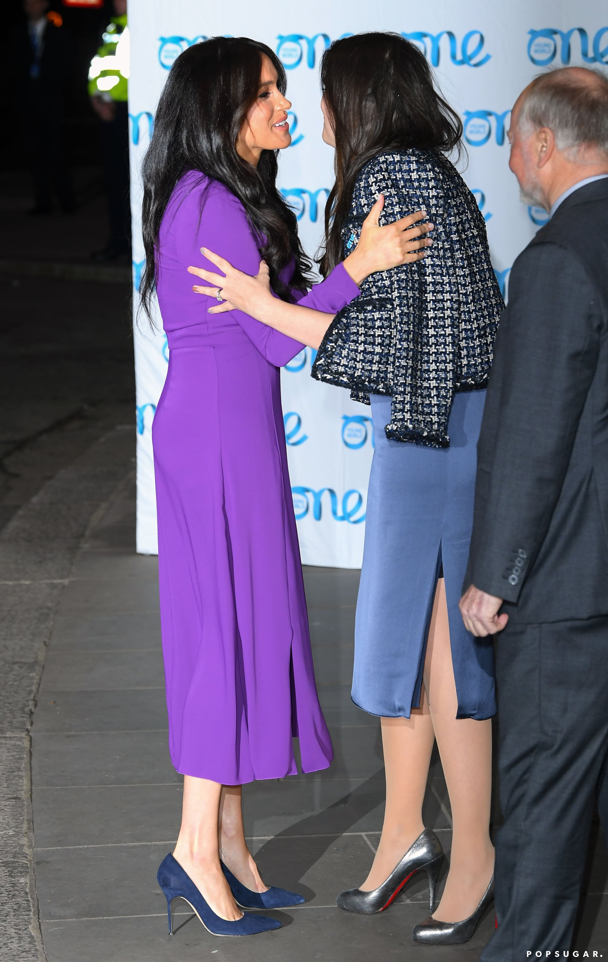 celebrity entertainment meghan markle returns to one young world summit 3 years later popsugar celebrity photo 4 meghan markle returns