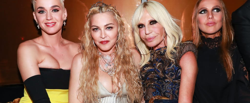 Madonna Wears Vintage Versace Dress to 2018 Met Gala