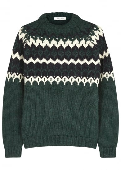 Fjäll Räven Fair Isle Jumper (£115) | 50 Festive and Fashionable ...
