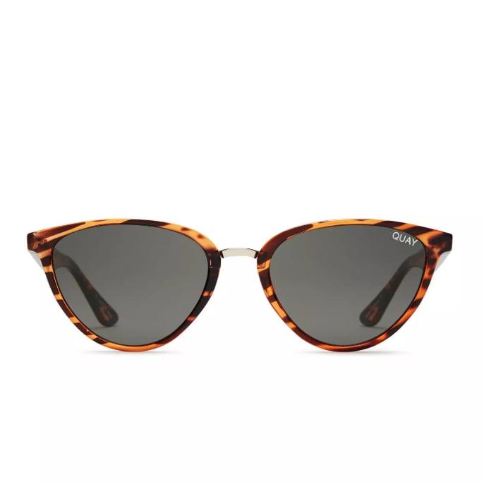 Quay Rumours Tortoiseshell Sunglasses