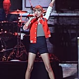 Taylor Swift performed at the Aria Awards in Sydney.