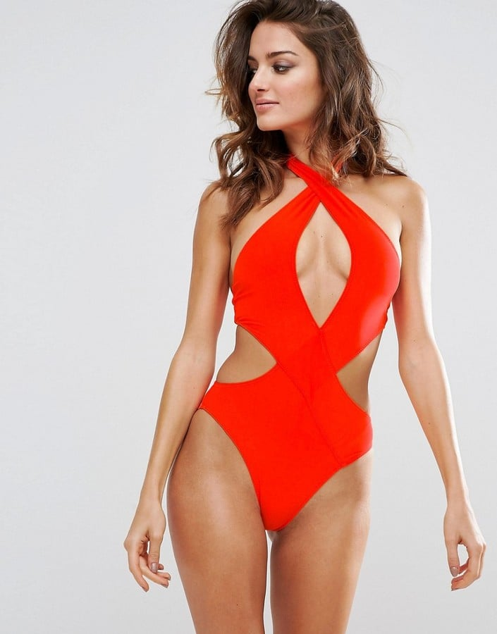 PrettyLittleThing Cut-Out Swimsuit