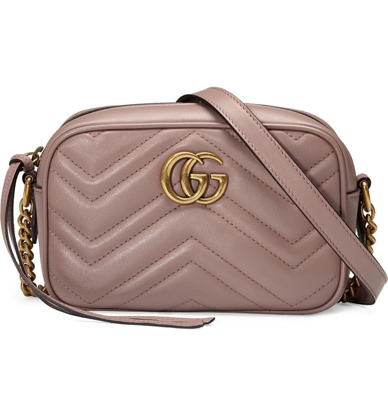 Gucci GG Marmont 2.0 Matelassé Leather Shoulder Bag