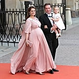 A Rosy Maternity Gown to Make You Weak at the Knees