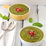Roasted Garlic and Zucchini Soup