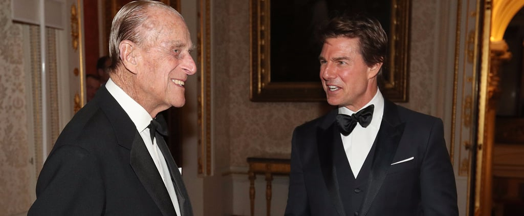 Tom Cruise Meeting Prince Philip in London March 2017