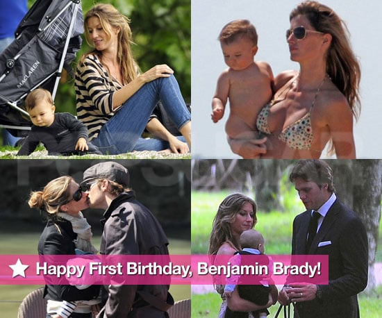 Pictures of Tom Brady and Gisele Bundchen's Baby Benjamin Brady