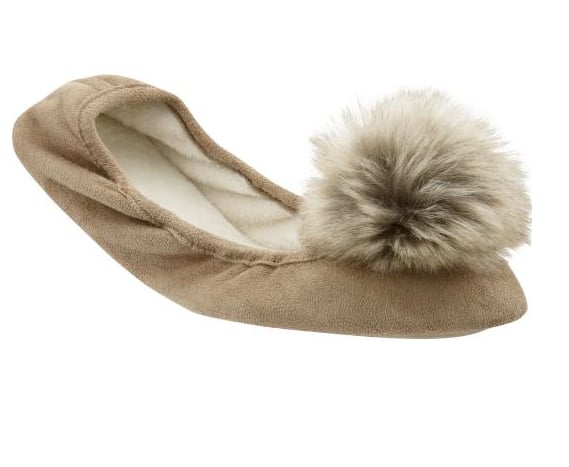 Gap Pom-Pom Slippers ($25)