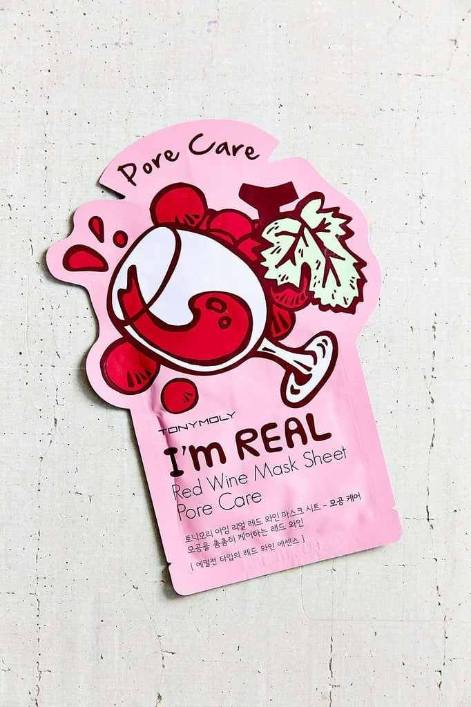I'm Real Red Wine Mask Sheet ($3)