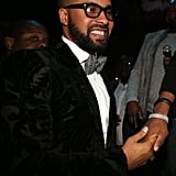 Kenny Burns threw a joint inaugural party with musician and actor Jamie Foxx Sunday night.