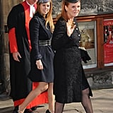 Princess Beatrice joined her mom, Sarah Ferguson, at the heartfelt event.
