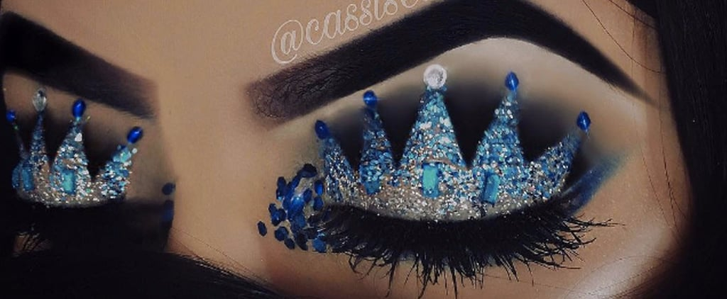These Images That Prove Crown Eye Shadow Is the Most Regal Beauty Trend Ever