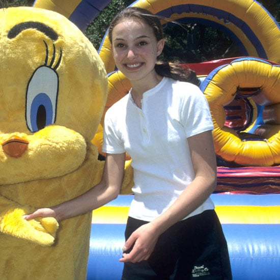 Natalie Portman showed her support at a Pediatric AIDS charity event in LA in 1996.