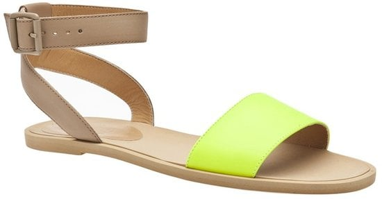 Just picture adding these MM6 by Maison Martin Margiela neon ankle-strap sandals ($340) to your white jeans and chambray button-down.