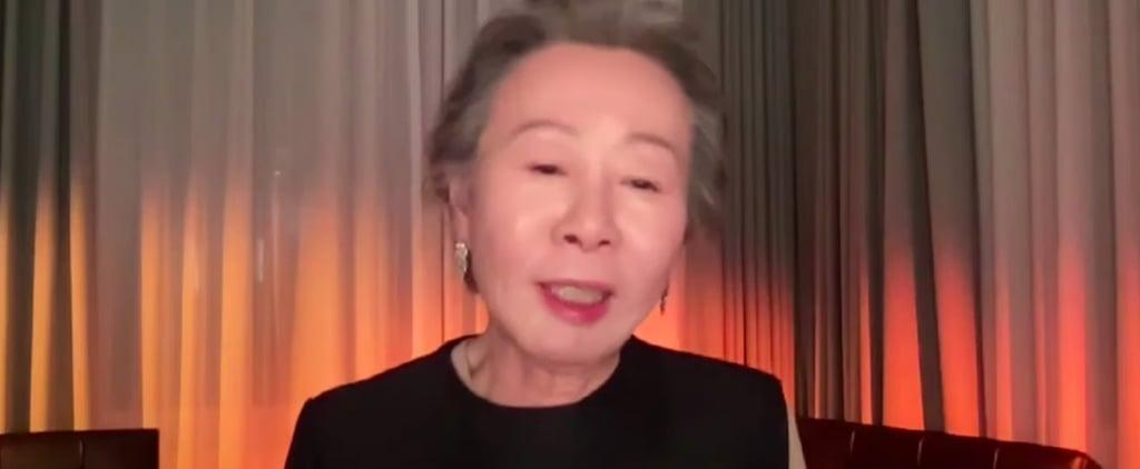 Watch Minari's Yuh-Jung Youn BAFTAs Speech | Video