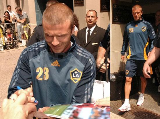 Gotta Love A Beckham In Uniform