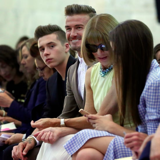Beckham Family at New York Fashion Week 2015