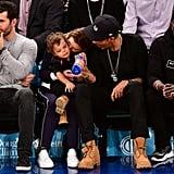 Ellen Pompeo and Chris Ivery at Knicks Game November 2018