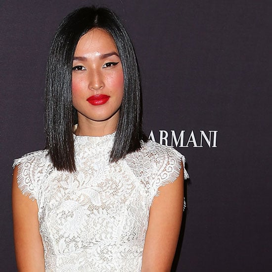Pictures of Celebrities at the Giorgio Armani Beauty Launch