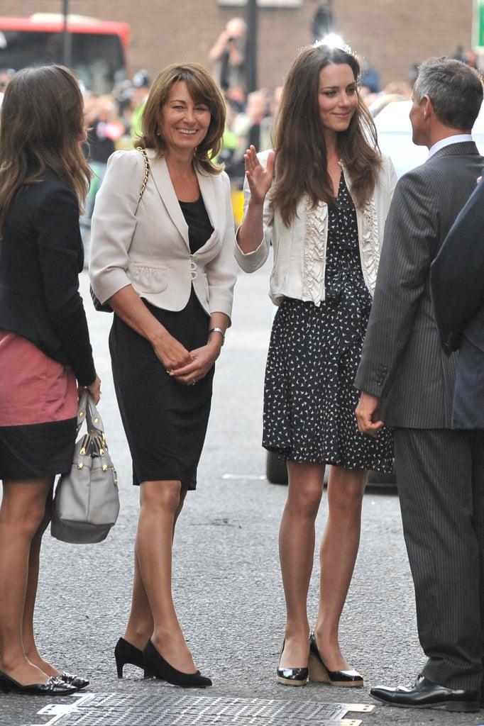 Carole Middleton in April 2011