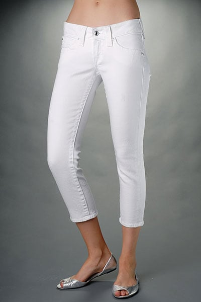 "True Religion 5-Pocket Lowrise ""Disco Kate"" Cropped Jeans"