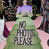 So Camp: Hailee Steinfeld in the Satirical Ball Gown of the 21st Century, With a Camera of Course